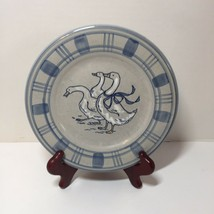 """Salad Plate Gaggle of Geese Louisville Stoneware 8"""" - $8.79"""