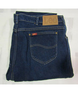 Lee Riders Straight Leg 42 X 32 Mens Blue Jeans Denim Vintage Made USA 4... - $34.99
