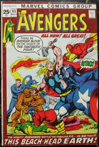AVENGERS# 93 Nov 1971 Ant-Man Ultron N Adams Cover/Art Bronze KEY: 7.0 F... - $150.00