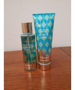 2 Victoria Secret Juniper Glow Fragrance BODY Lotion & MIST Set NEW - $34.60