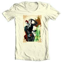Gotham City Sirens T-shirt DC superhero Bat-Man 100% cotton graphic tee BM226 image 2