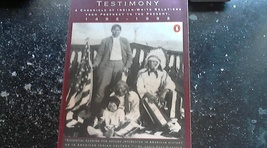 Native American Testimony A Chronicle of Indian-White Rlations 1492-1992 - $3.00