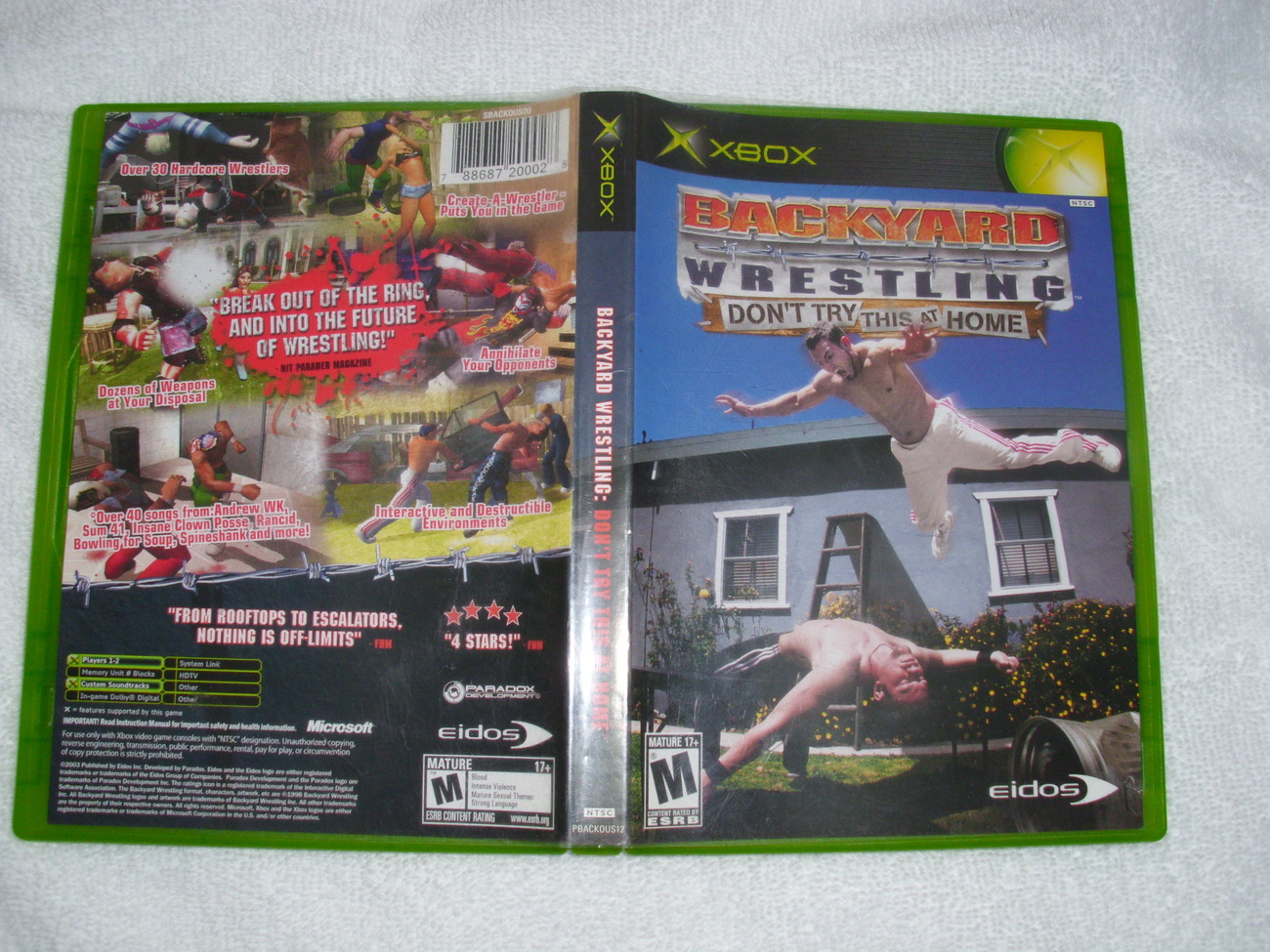 Xbox Backyard Wrestling: Don,t Try This At Home