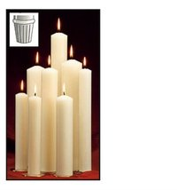 1 x 12 7/8 51% Paraffin Wax Candle Self Fitting End 51% Paraffin Wax 1 x... - $567.11