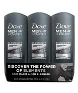 Dove Men+Care Body Wash, Charcoal+Clay 18 fl. oz./ 532 ml, 3 pk - $23.99