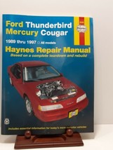 Haynes Repair Manual 36086 Ford Thunderbird & Mercury Cougar 1989 -1997 - $12.37