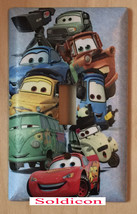 Cars characters McQueen Light Switch Power Outlet wall Cover Plate Home Decor image 1