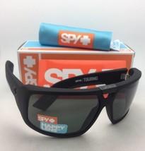 Neu Spy Optic Sonnenbrille Touring Weich Matt Schwarz Rahmen Föhlich Grau Grün