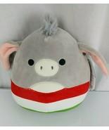 "Squishmallows Stuffed Plush Jason Donkey 8"" Cinco De Mayo Fiesta Toy Dro... - $32.66"