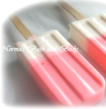 Cotton Candy Handmade Glycerin Soap Popsicles - $4.25