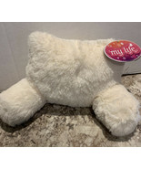 My Life As Soft Fluffy Plush Doll Lounge Pillow - New - White - $18.42