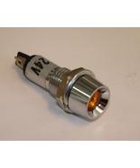 Panel Indicator Lamp, 24V Amber - $1.50