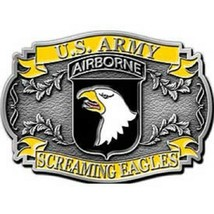 United States American Army 101st Airborne Belt Buckle - $18.80