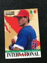 BASEBALL TRADING CARD UPPER DECK INTERNATIONAL 1995 #333 BENJI GIL   (SS27) - $4.17