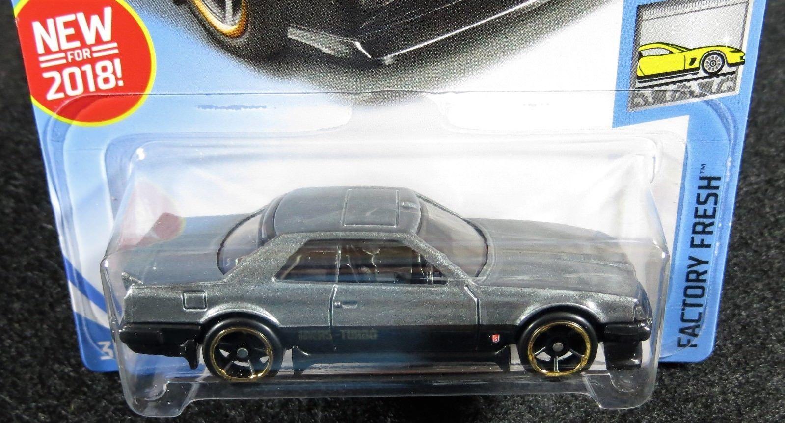 2018 Hot Wheels Gray 82 Nissan Skyline R30 And 50 Similar Items Hotwheels Silver Card 169