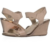 4edbaa363f AK Anne Klein Sport Latasha Comfort Wedge Sandals 444, Light Natural/Light  - $21.11