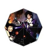 Custom Prince Purple Unisex Fashion Portable Foldable Printed Umbrella - $49.99