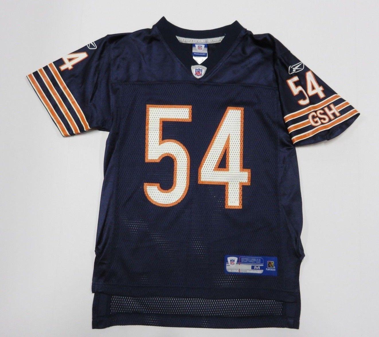 3c566b12448 NFL REEBOK Brian Urlacher #54 Chicago Bears and similar items