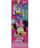 Disney Minnie Mouse Daisy Duck Jigsaw Puzzle 24 Piece Tower NEW Sealed - $6.98