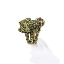 Heidi Daus Frog Crystal Ring different sizes - $59.02