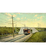 The Ballston Railroad Line Schenectady New York Vintage 1909 Post Card - $6.00