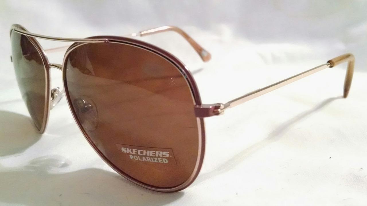 1f9e9e0a08ef4 NEW Skechers Gold Brown Aviator Sunglasses and 50 similar items. S l1600