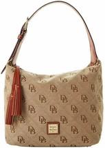 Dooney & Bourke Women's Classic Logo Maxi Quilt Paige Sac Bag, Natural, ... - $245.52