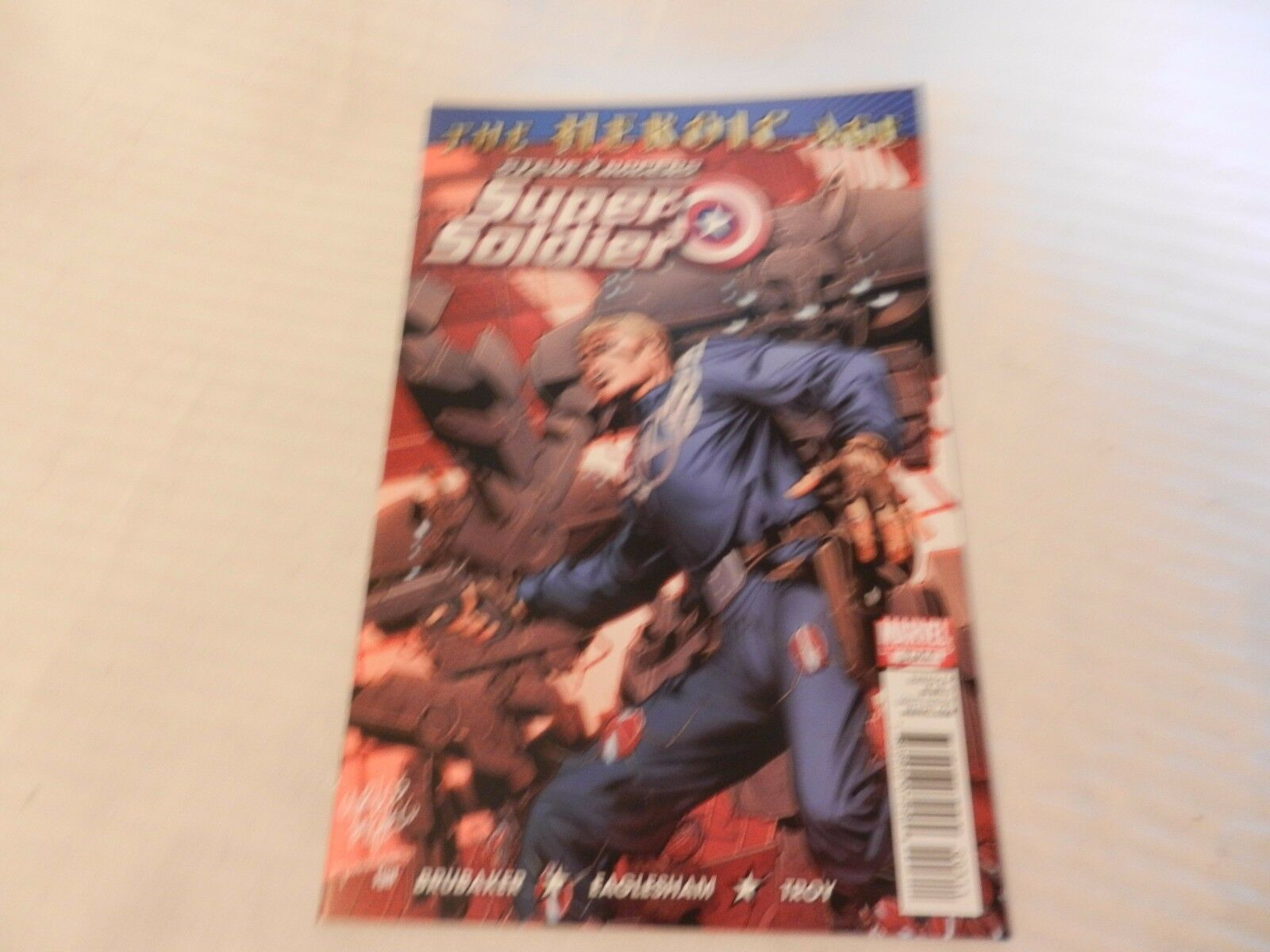 The Heroic Age Steve Rogers Super-Soldier Marvel Comics #3 November 2010