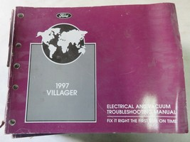1997 Mercury Villager Electrical Wiring Diagrams Service Manual Factory OEM - $2.54