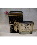Vintage LIPTONS TEA Tin Oriental 1937 Collector Souvenir Collectible ASIAN - $49.95