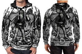 AC DC logo Hoodie Fullprint Men - $41.80