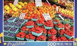 Fresh Market Fruit Stand - Puzzlebug 500 Piece Jigsaw Puzzle - $6.78