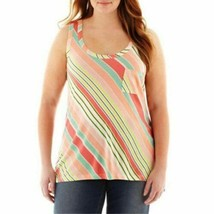a.n.a Racerback Pocket Tank Top Plus Size 1X New With Tags Msrp $26.00 - $9.99