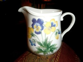 Noritake Gala Cuisine Conservatory Creamer Floral Freezer to Oven Table ... - $17.75