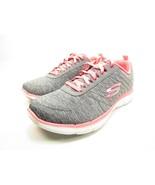 Skechers Flex Appeal 2.0 Womens Sneakers Gray/Coral Size 8.5 - $48.37