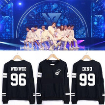 Kpop Seventeen Sweater 1st Mini Album 17 CARAT Unisex Hoodie WONWOO VERNON - $11.99