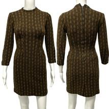 Vintage 70' AFL-CIO women's ladies union workers dress wool long sleeve ... - $49.28
