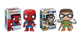 Funko POP! Marvel: Spider-Man and Doctor Octopus Toy Action Figures - 2 ... - $43.76