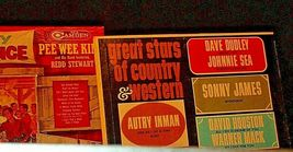 Country barn dance Pee Wee Kingand The Country Folks Eldon Combs AA-192003 Vint image 3