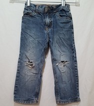 Blue Jeans Denim Toddler Size 3T 3 Cherokee Boys Ripped Knees - $14.99