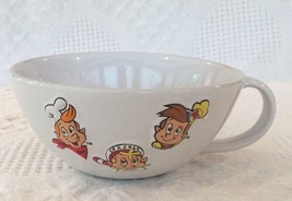 Snap Crackle Pop Kelloggs Rice Krispies Large Oversized Cereal Bowl Mug Cup 1999 - $15.95