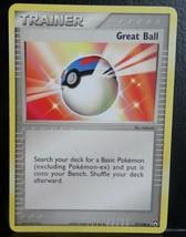 x1 GREAT BALL - 77/108 Near Mint EX Power Keepers Set Pokemon Card 2007 - $1.99