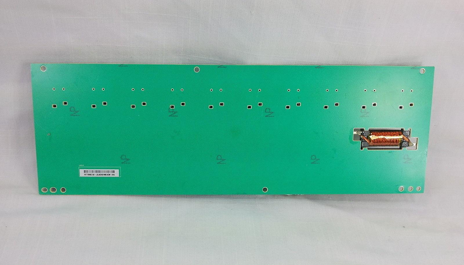 Toshiba 26LV61K LCD TV Television Backlight Inverter Board VIT70063.50