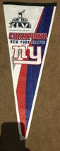 Pennant New York Giants  XLVI Super Bowl Champions - $8.00