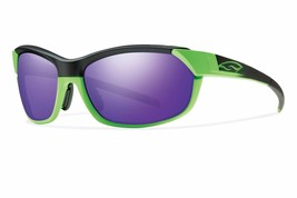 Smith Optics Pivlock Overdrive Sunglasses Reactor Green FRAME/ Purple Sol X - $179.99