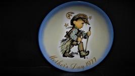 "Sister Berta Hummel's ""Moon Light Return"" 1977 Mothers Day Collector Plate - $22.99"
