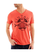 i jeans by Buffalo Vintage Burnt Sienna Graphic Tee Size L New - $12.99