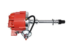 CHEVY GMC 4.3L V6 V-6 262 SUPER 65K COIL HEI DISTRIBUTOR EFI TO CARB SWAP RED image 9