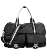 NEW MENS 2XIST BLACK DOME NYLON DUFFLE BAG $128 - $29.69