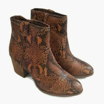 Carlos by Carlos Santana Women's Python Embossed Rowan Ankle Boots Size 7M  - $39.60